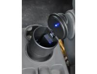 Osvetljeni avtomobilski pepelnik LED