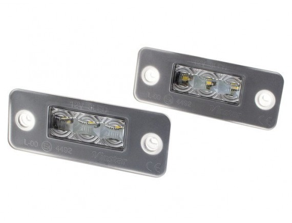 Audi A8 D3 4E 02-10 Lučka registrske tablice / svetilka LED 2 kom