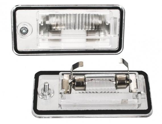 Audi A3 A4 A6 A8 Q7 Svetlobna tablica / svetilka 2pcs set