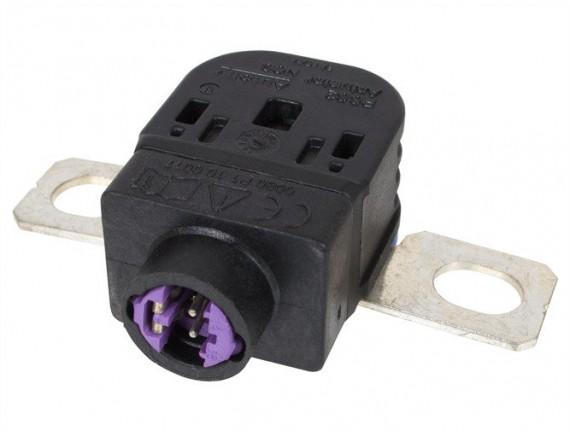 Porsche Cayenne 7P5 2010 - kabel za pozitivno baterijo / popravilo piro terminalov / odzračevanje kabla