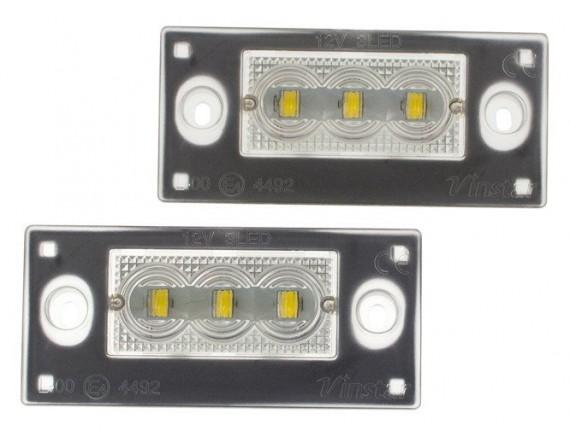 Audi A3 8L 00-03 A4 S4 Avant 99-01 Lučka registrske tablice / svetilka LED 2 set