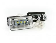 Citroen Berlingo I II C3 C4 C5 Jumpy Xsara Picasso Saxo Številka registrske luči / svetilka LED 2 kos set