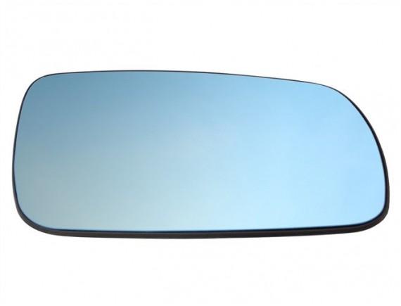 Audi A4 B5 94-99 Zrcalno steklo / vložek ogledala Ogrevano BLUE Right
