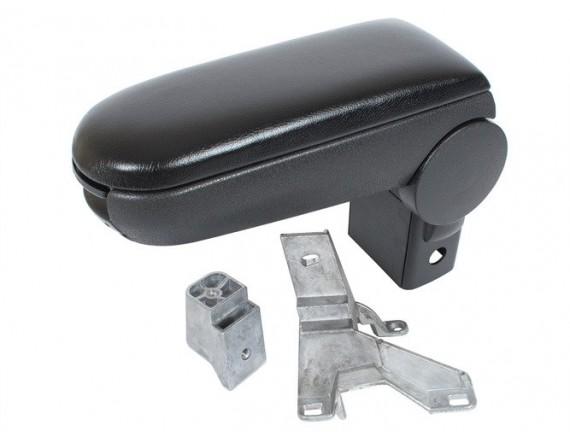 Garnitura za naslon za roke VW Golf IV BLACK EKOLEATHER + komplet za pritrditev