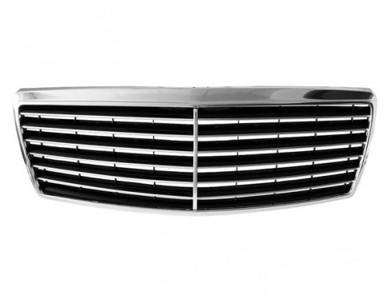 Mercedes 140 95-98 Žar hladilnika / zajem zraka TUNING CHROM