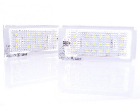 BMW 3 E46 03-06 2 vrata COUPE Lučka registrske tablice / svetilka LED 2 kos