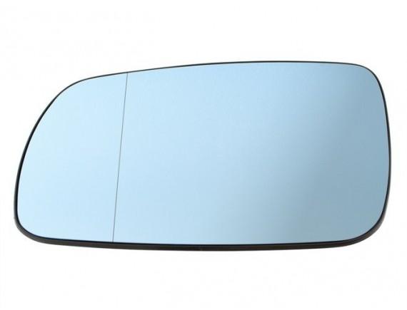 Audi A3 8L 96-99 Zrcalno steklo / vložek ogledala Ogrevano BLUE Left