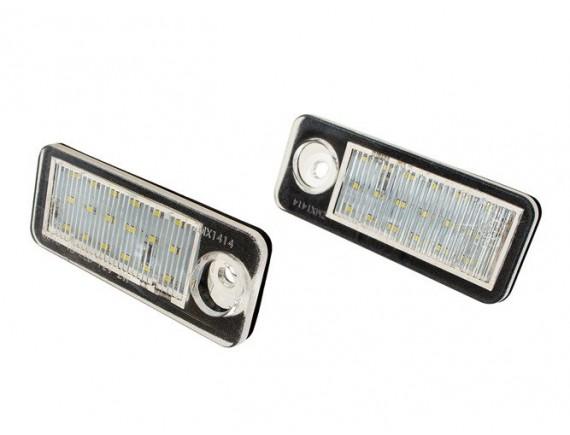Audi A6 C5 karavan 97-04 Lučka registrske tablice / svetilka LED 2 kom