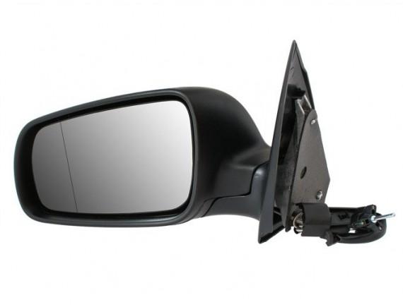 Ročno ogledalo Skoda Fabia I 99-08 črno levo
