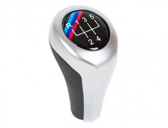 BMW E30 E32 E34 E36 E39 E46 E60 E61 E62 E63 E81 E82 E85 E87 E88 E90 E91 E92 X1 X3 X5 Prestavna ročica ročka M-PAKIET / M-POWER 5 Gear