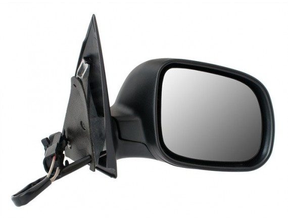 Ročno ogledalo Skoda Fabia I 99-08 črno desno